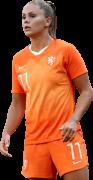 Lieke Martens football render