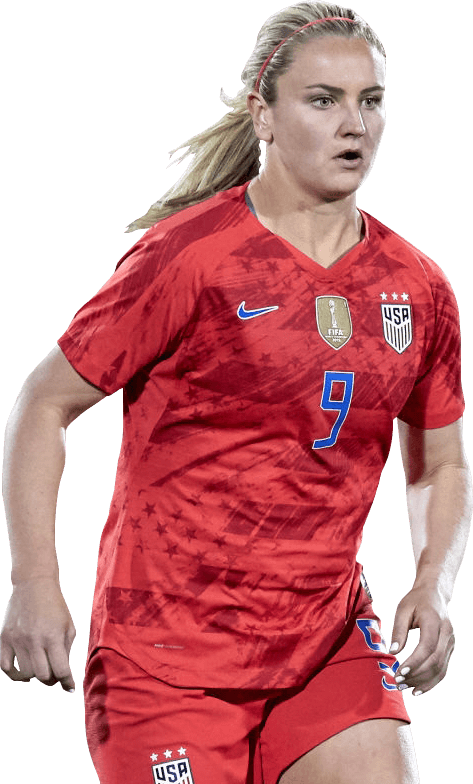premium selection 8b6ad f4fb0 Lindsey Horan football render - 53796 - FootyRenders