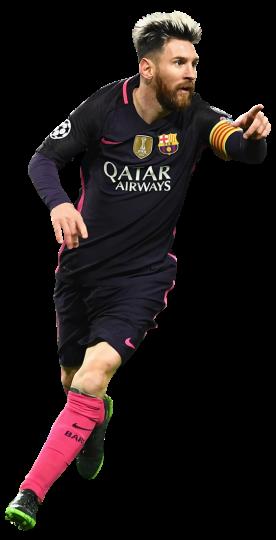 Lionel Messi football render - 31608 - FootyRenders