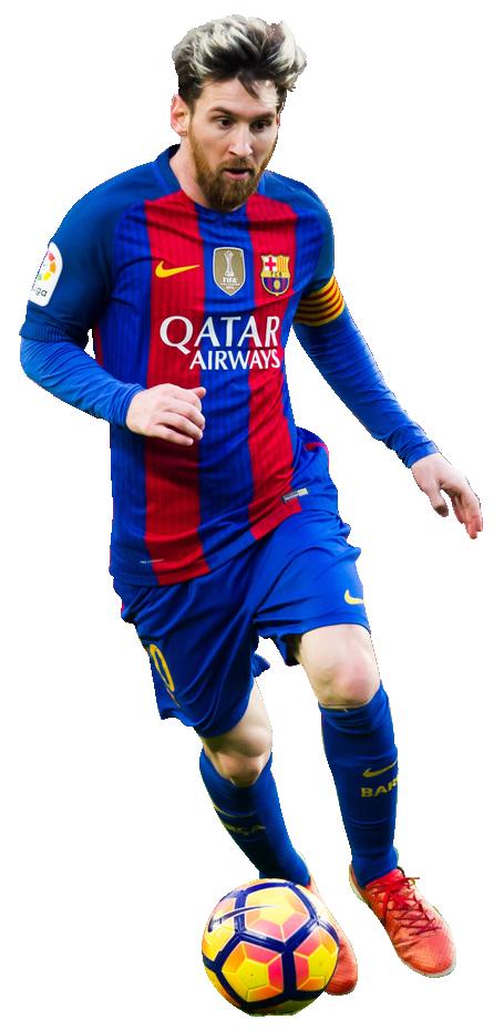 Lionel messi football render 32952 footyrenders - Render barcelona ...