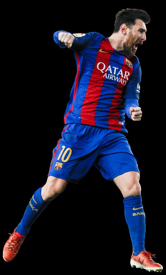 Lionel Messi football render - 33649 - FootyRenders