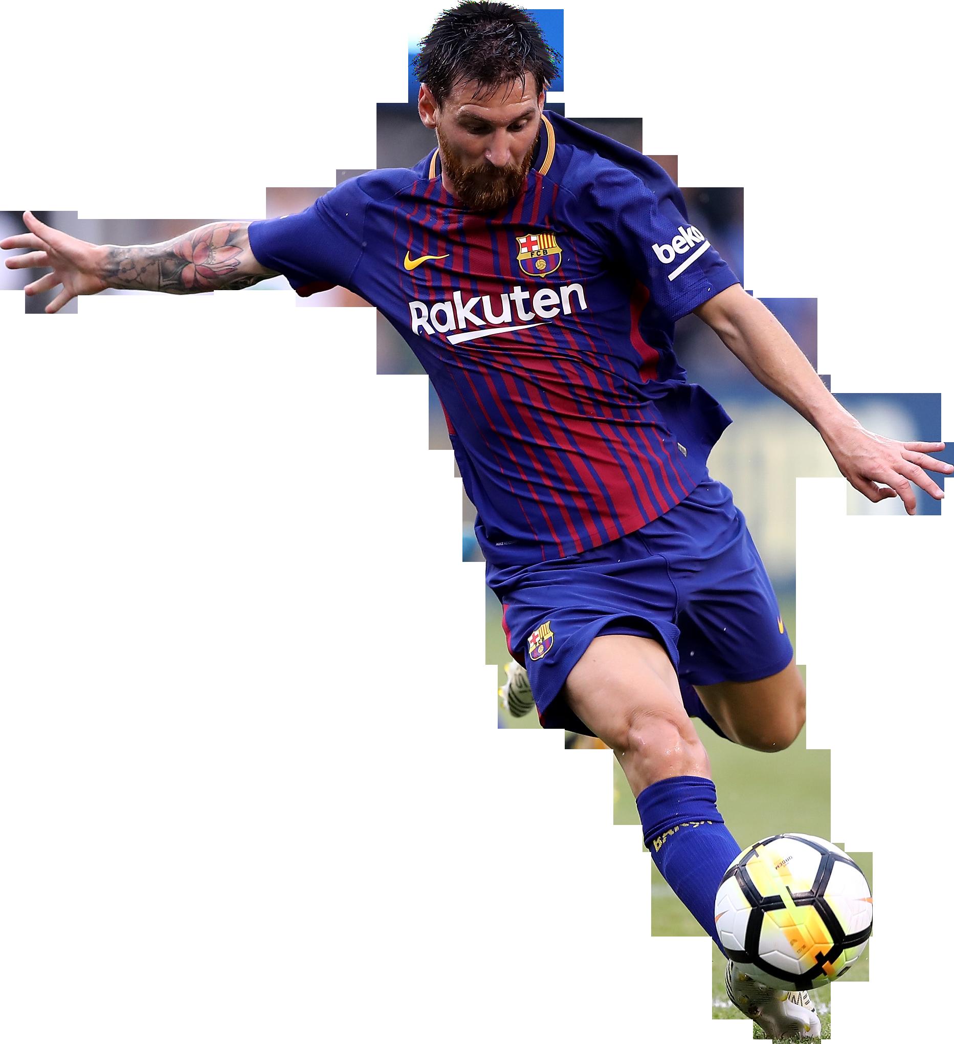 Lionel Messi football render - 39112 - FootyRenders