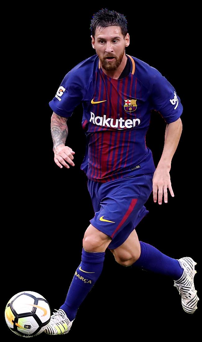 Lionel Messi football render - 39418 - FootyRenders