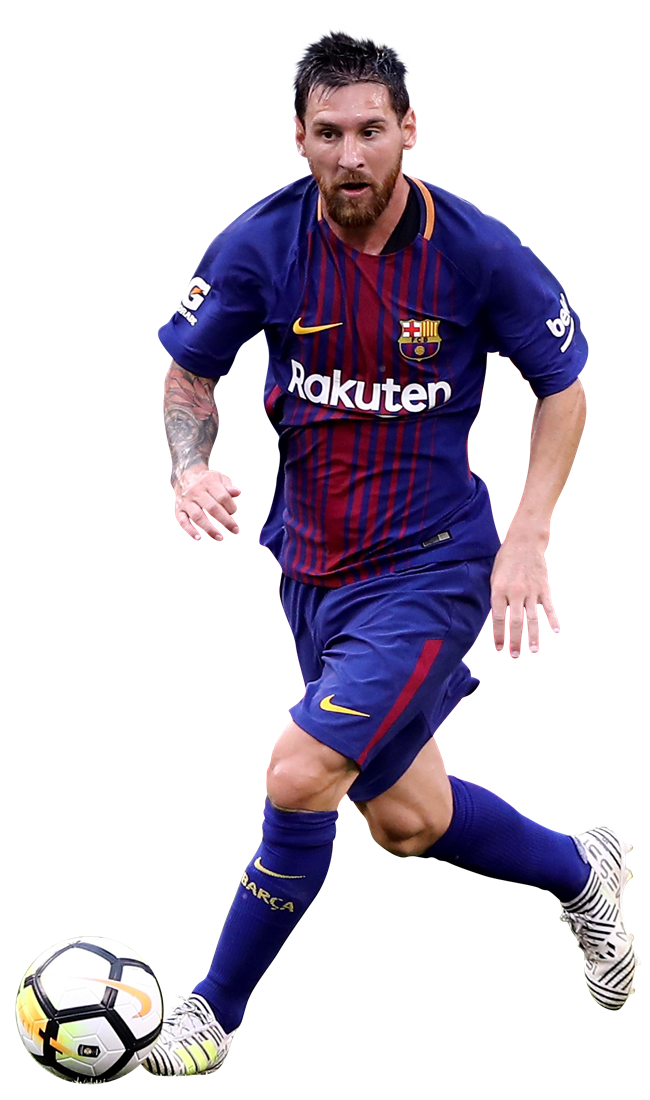 Lionel messi football render 39418 footyrenders - Render barcelona ...