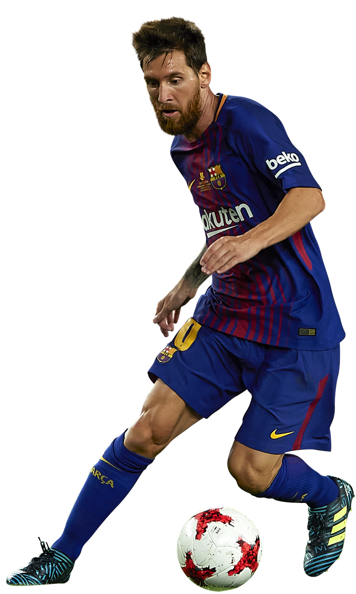 Lionel messi football render 40272 footyrenders - Render barcelona ...