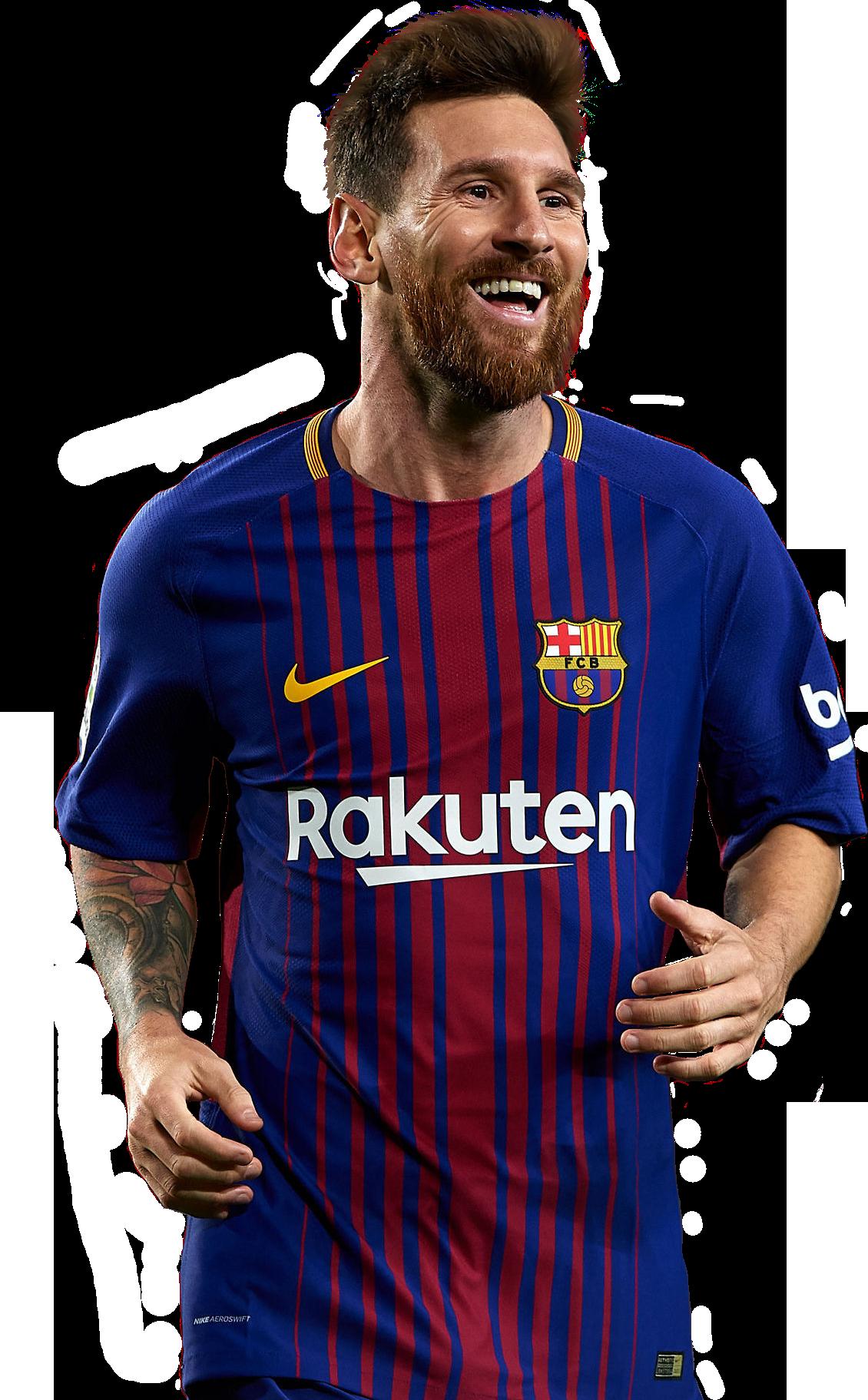Lionel Messi football render - 41066 - FootyRenders