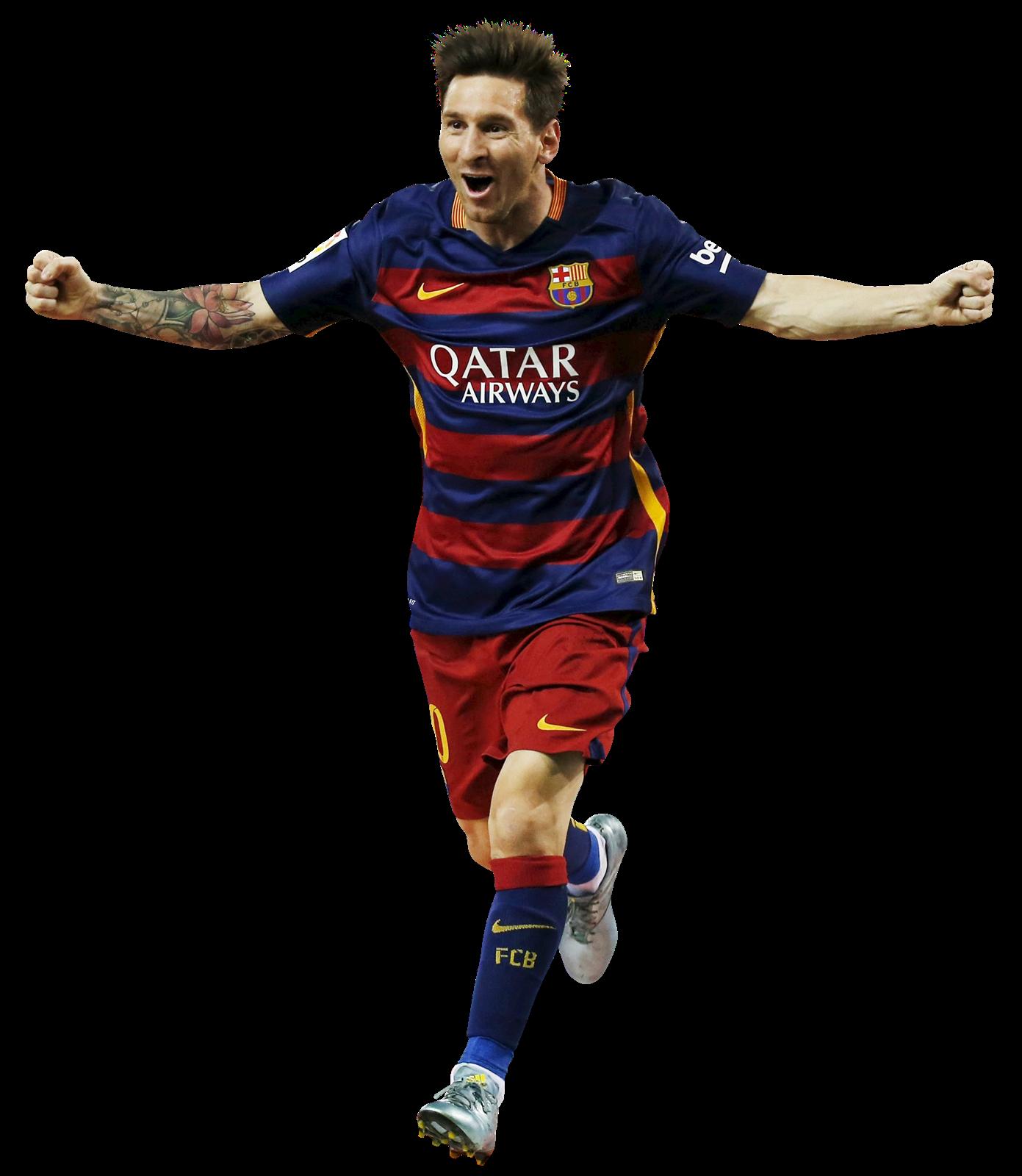 Lionel Messi football render - 20969 - FootyRenders