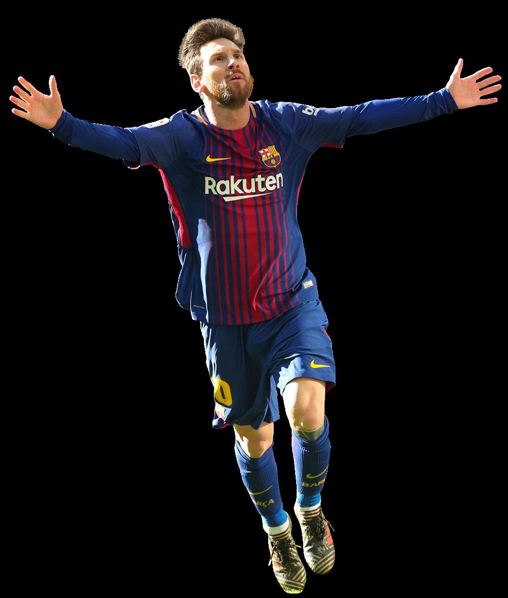 Lionel messi football render 42782 footyrenders - Render barcelona ...