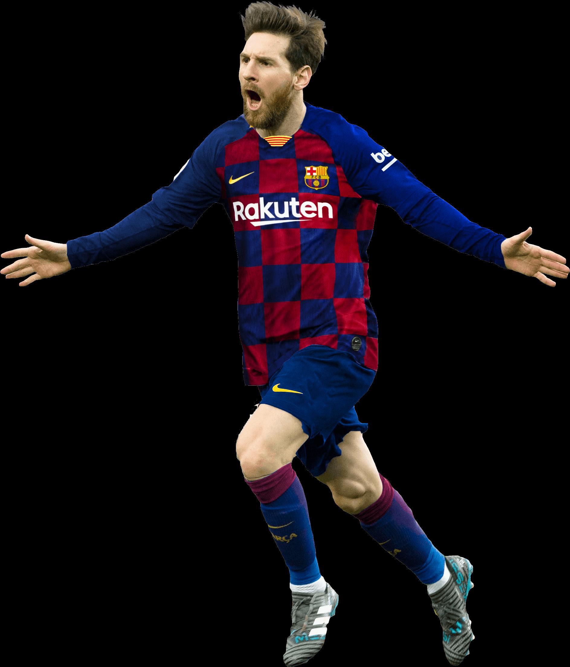 Lionel Messi football render - 54508 - FootyRenders