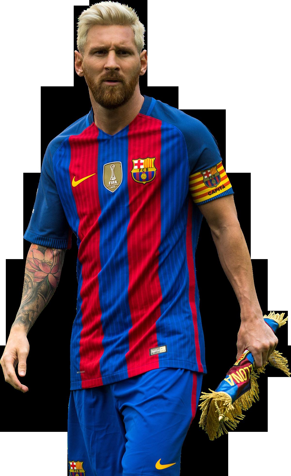 Lionel Messi football render - 28312 - FootyRenders