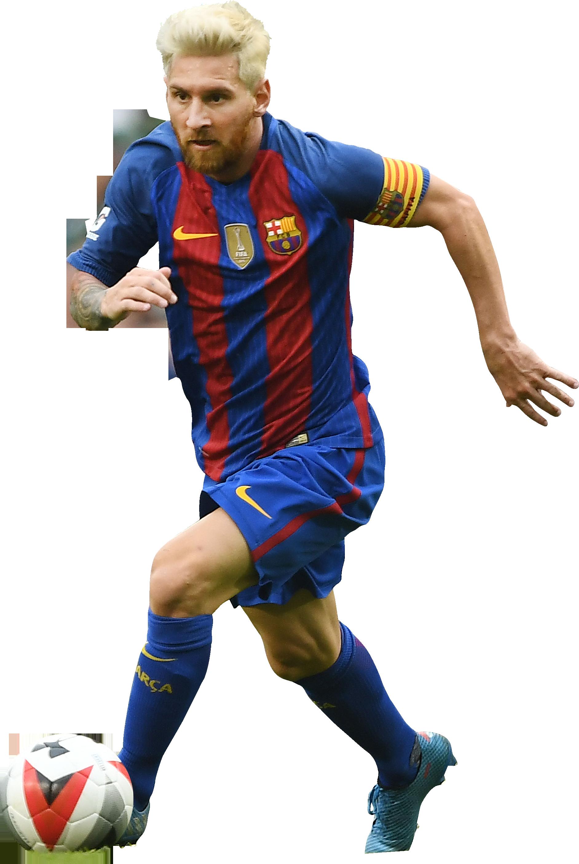 Lionel messi football render 28359 footyrenders - Render barcelona ...