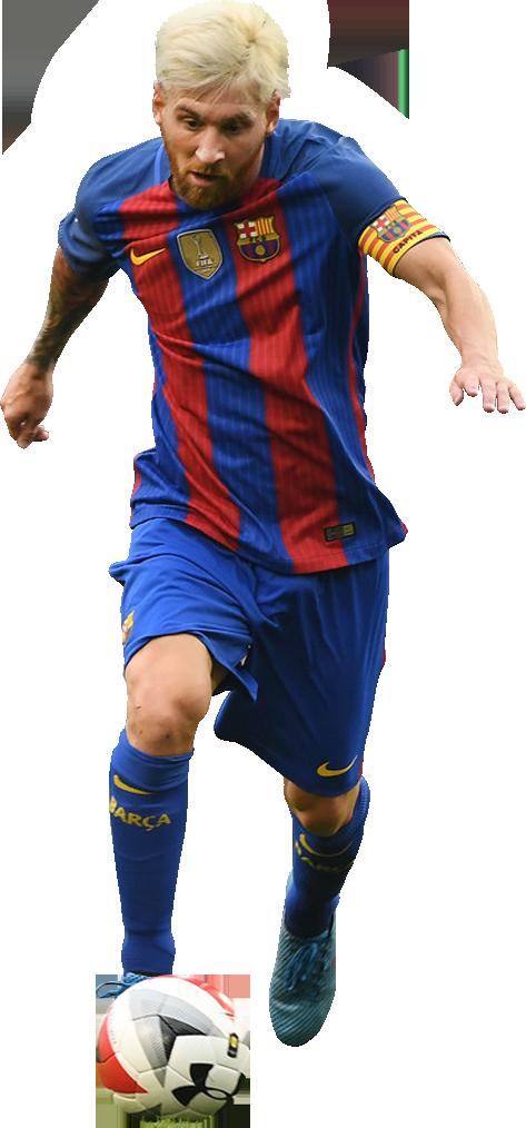 Lionel messi football render 28309 footyrenders - Render barcelona ...