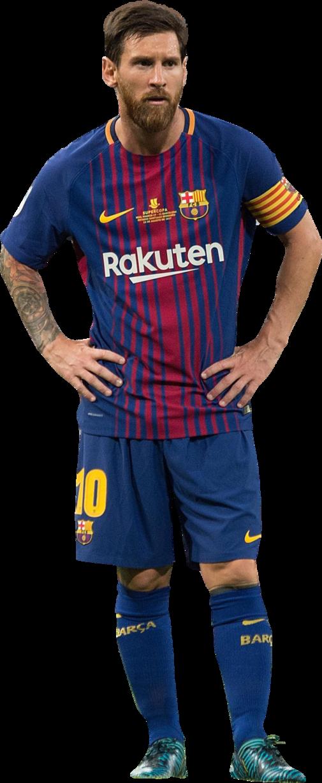 Lionel messi football render 40519 footyrenders - Render barcelona ...