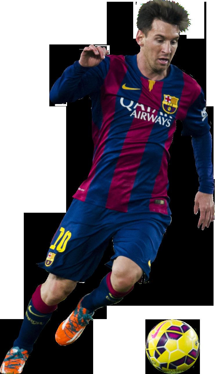 Lionel Messi football render - 10119 - FootyRenders