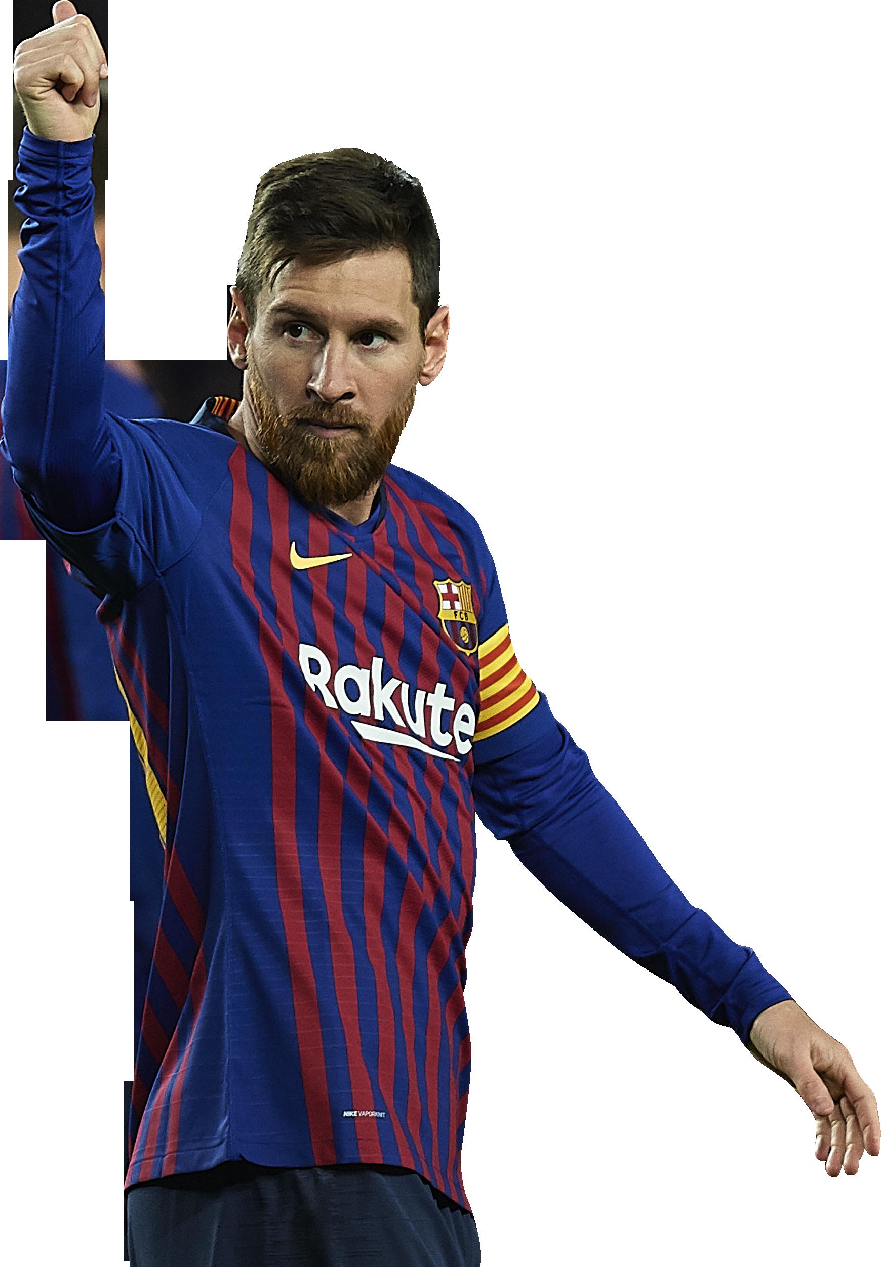 Lionel Messi football render - 50732 - FootyRenders