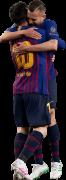 Lionel Messi & Jordi Alba