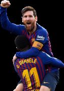 Lionel Messi & Ousmane Dembélé