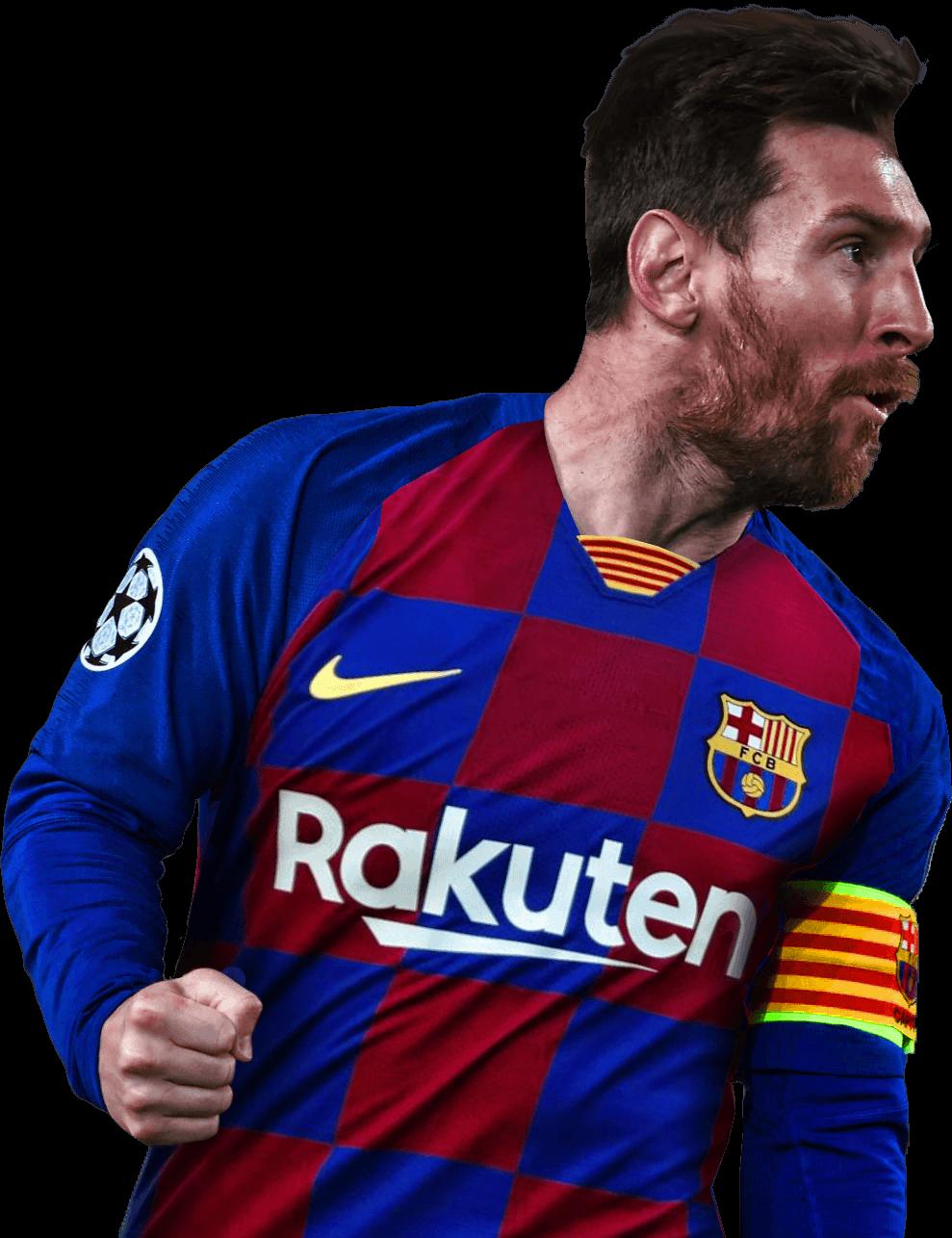 Lionel Messi football render - 58353 - FootyRenders