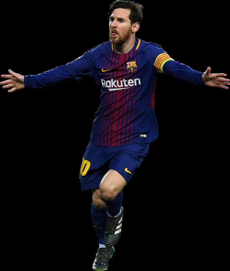 Lionel messi football render 44358 footyrenders - Render barcelona ...