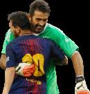 Lionel Messi & Gianluigi Buffon