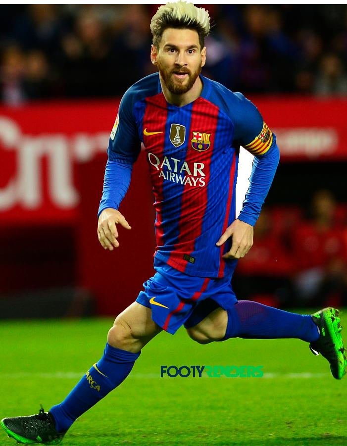 Lionel messi football render 31718 footyrenders - Render barcelona ...