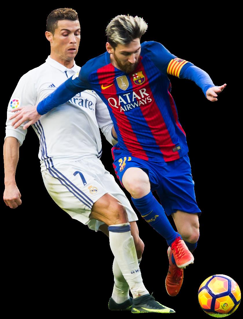Lionel Messi vs Cristiano Ronaldorender