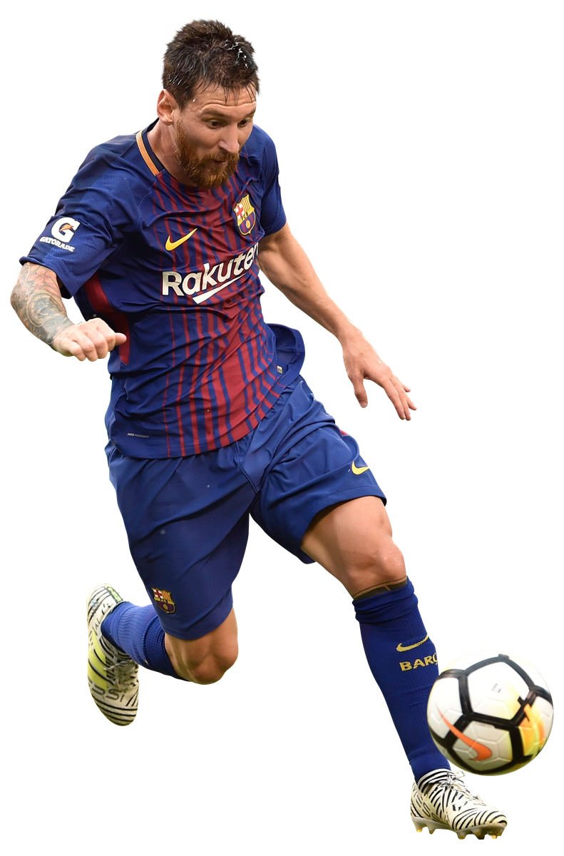 Lionel Messi football render - 39420 - FootyRenders