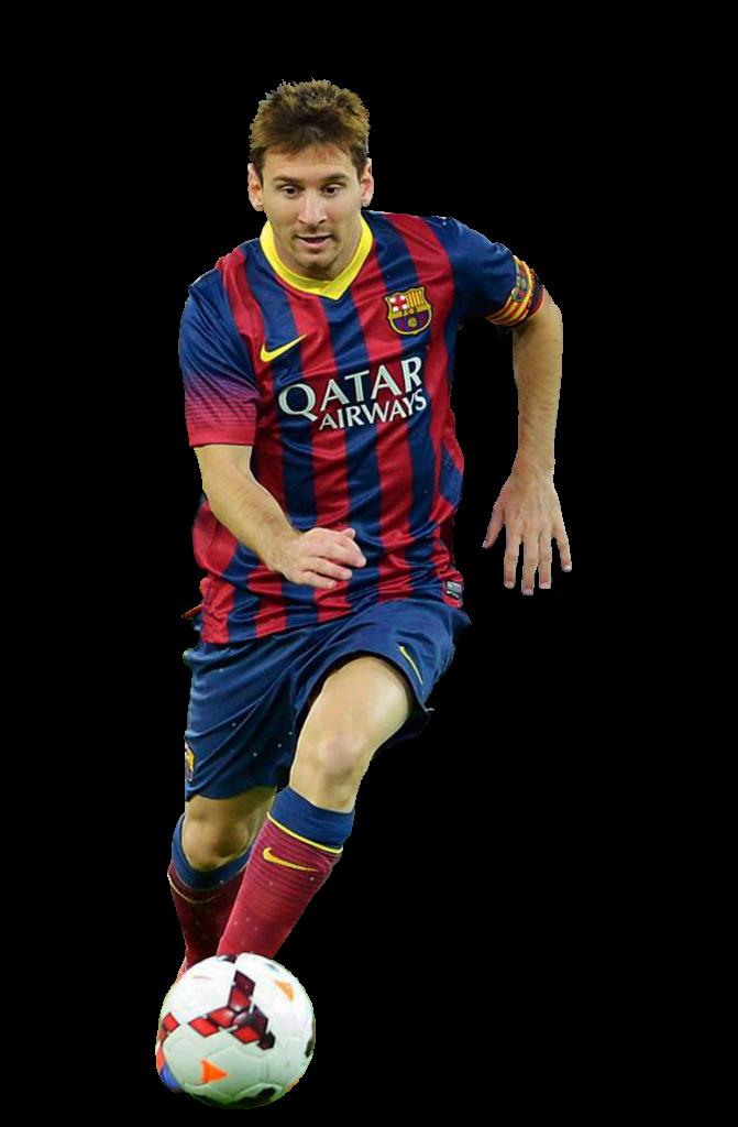 Lionel messi football render 1124 footyrenders - Render barcelona ...