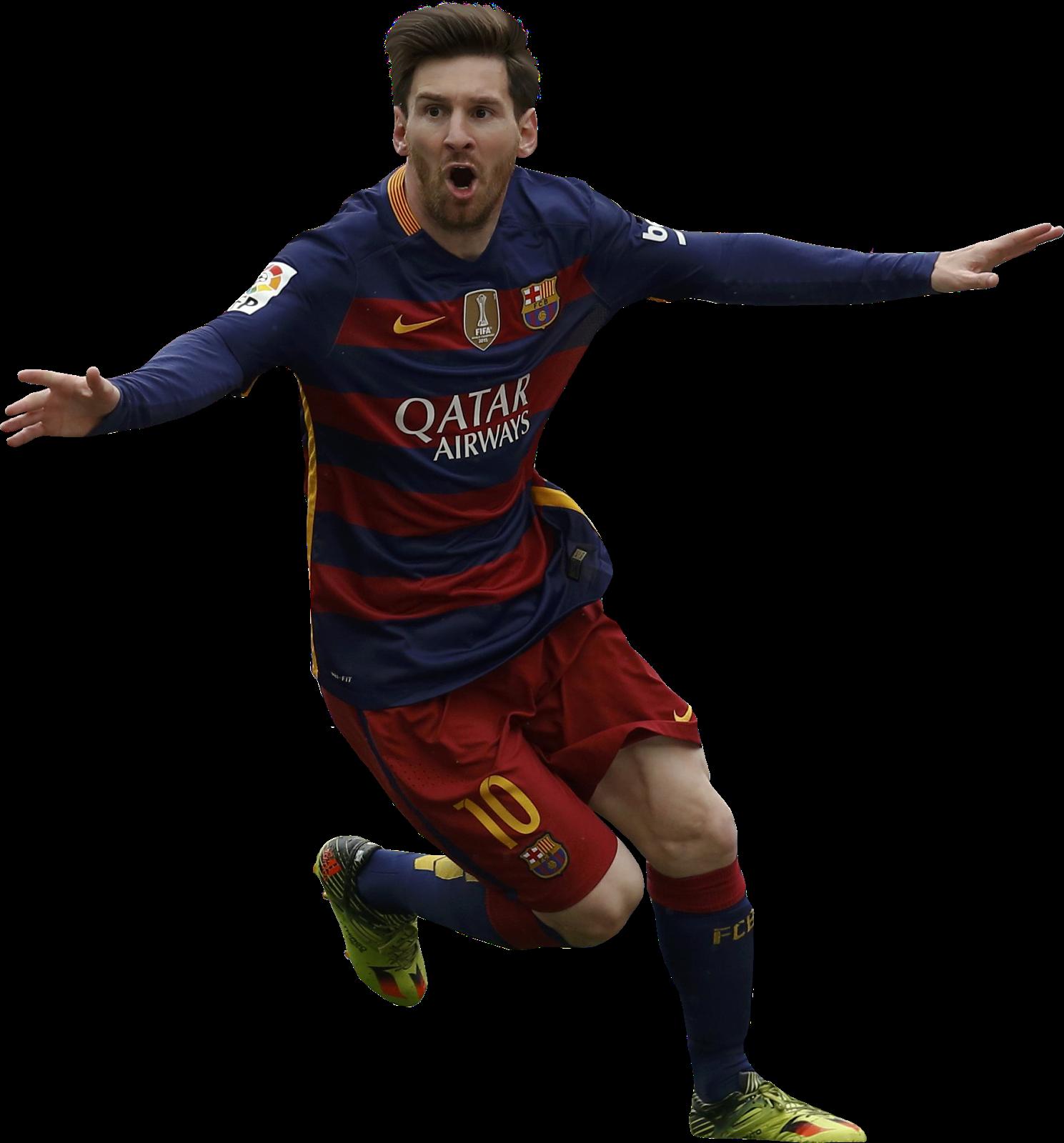 Lionel messi football render 25529 footyrenders - Render barcelona ...