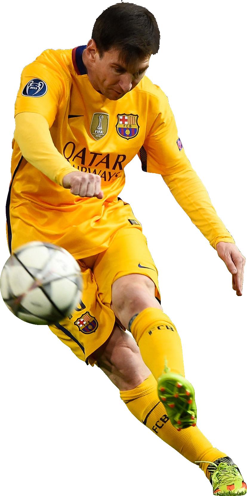 newest 76e4d 3d638 Lionel Messi football render - 25303 - FootyRenders