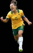 Lisa De Vanna football render