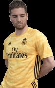 Luca Zidane football render
