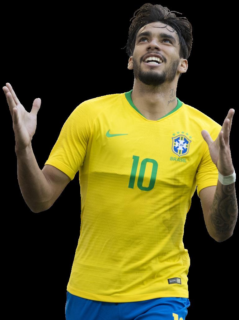Lucas Paquetá football render - 52522 - FootyRenders