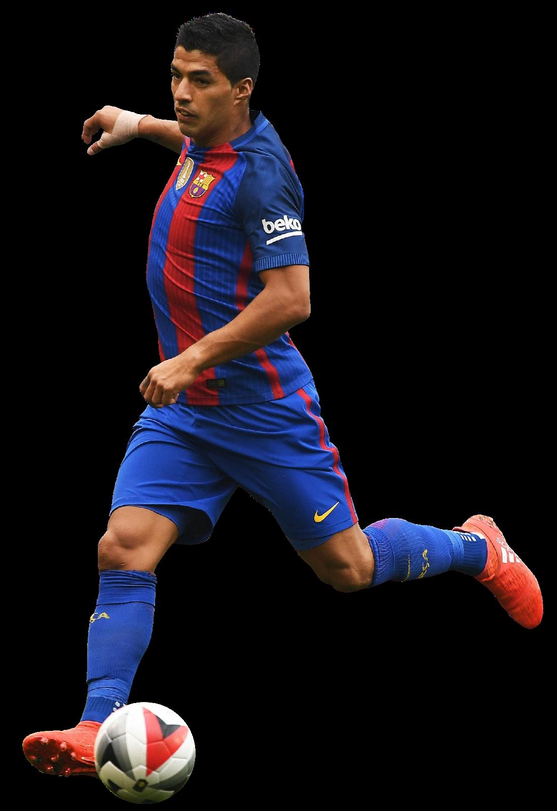 Luis suarez football render 28315 footyrenders - Render barcelona ...