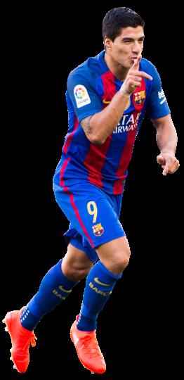 Luis suarez football render 29069 footyrenders - Render barcelona ...