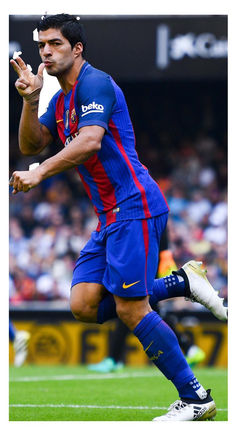 Luis suarez football render 31851 footyrenders - Render barcelona ...