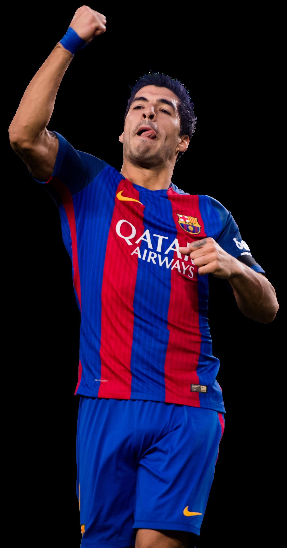 Luis suarez football render 35601 footyrenders - Render barcelona ...