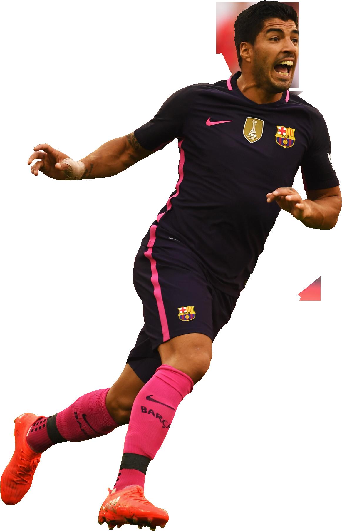 Luis suarez football render 28552 footyrenders - Render barcelona ...