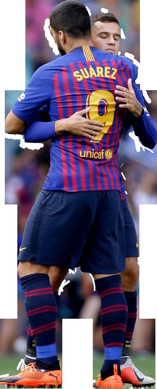 Luis Suarez & Philippe Coutinhorender