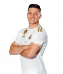 Luka Jović football render