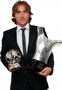 Luka Modric UEFA Men's Best Player of The Year 2017/18