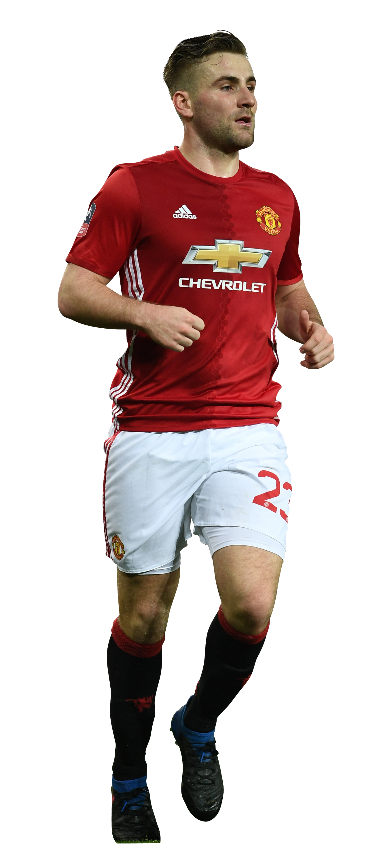 Luke Shaw Football Render