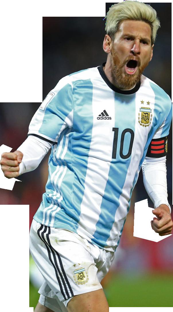 Lionel Messi football render - 29445 - FootyRenders