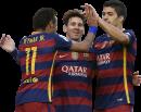 Neymar, Lionel Messi & Luis Suarez