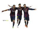 Luis Suarez, Neymar & Lionel Messi