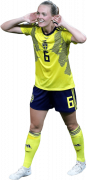 Magdalena Eriksson football render