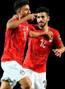 """Mahmoud """"Trézéguet"""" Hassan & Ayman Ashraf football render"""