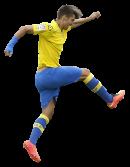 Manu Dimas football render