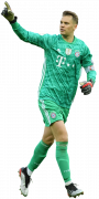 Manuel Neuer football render