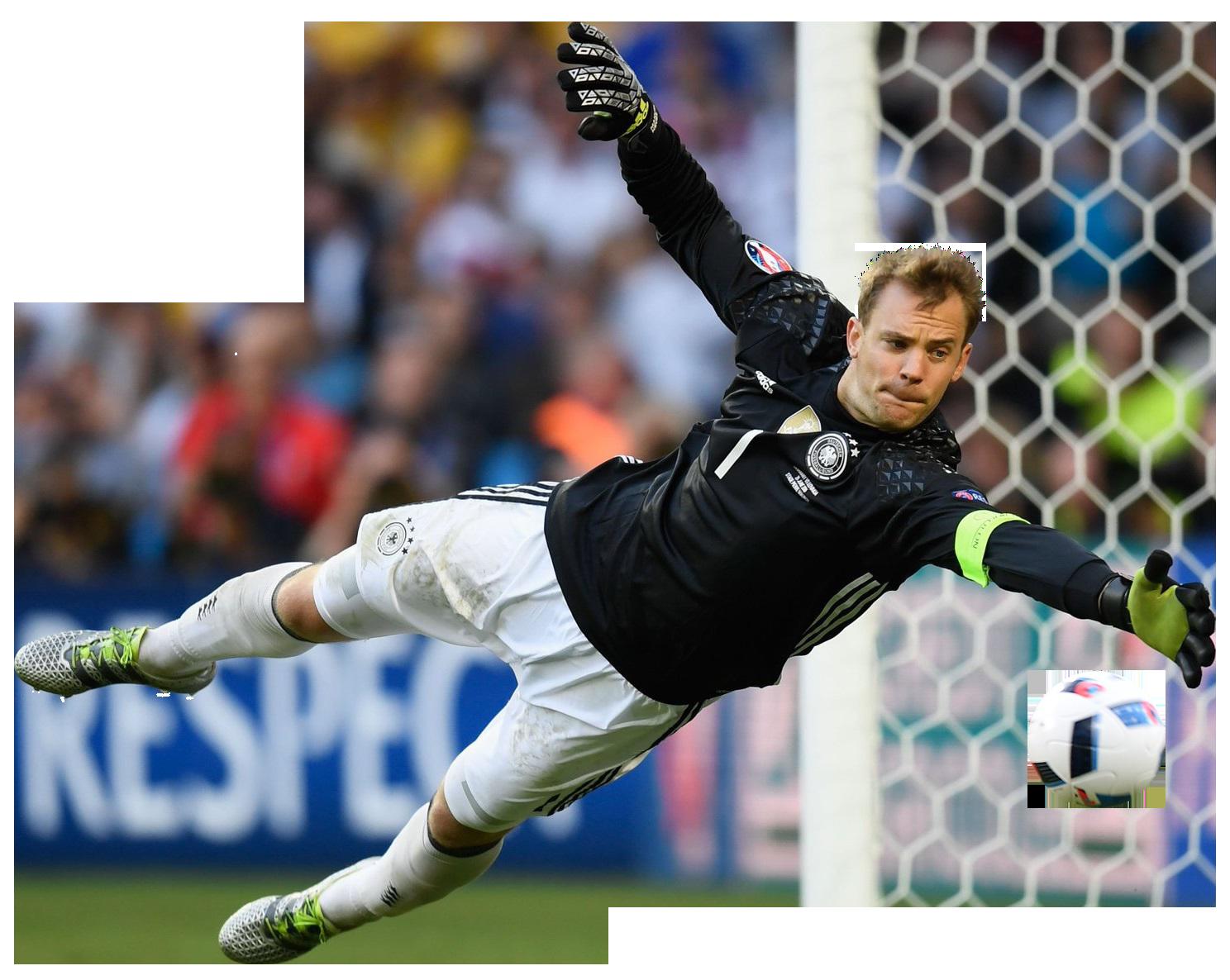 Manuel Neuer football render FootyRenders
